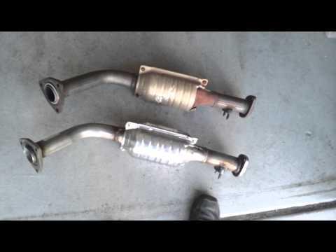 codigo P0420 problema con catalitico de escape - Toyota Tundra