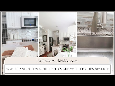 Top Cleaning Tips & Tricks To Make Your Kitchen Sparkle