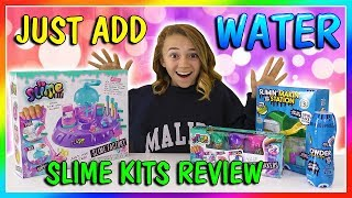 EXTREME BUCKET OF SLIME MAKEOVER ~ fixing store bought slimes
