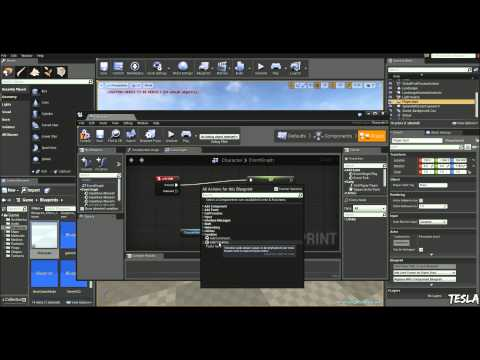 Unreal Engine 4 Tutorial - Basic Sprint System