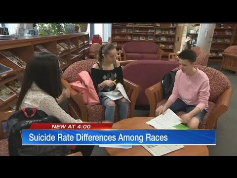 Race may play role in kids' suicide risk