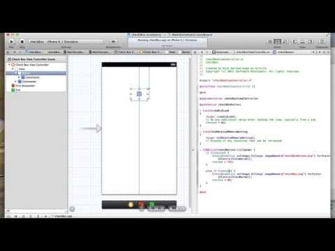Xcode custom UIButton Checkbox