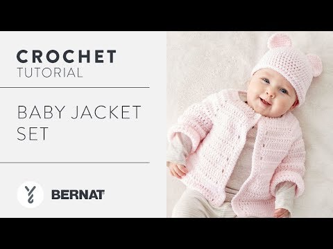 How to Crochet a Baby Jacket Set