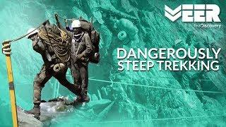 Veer Dola Exercise: Dangerous Trek on Steep Mountains | High Altitude Warfare School E3P3