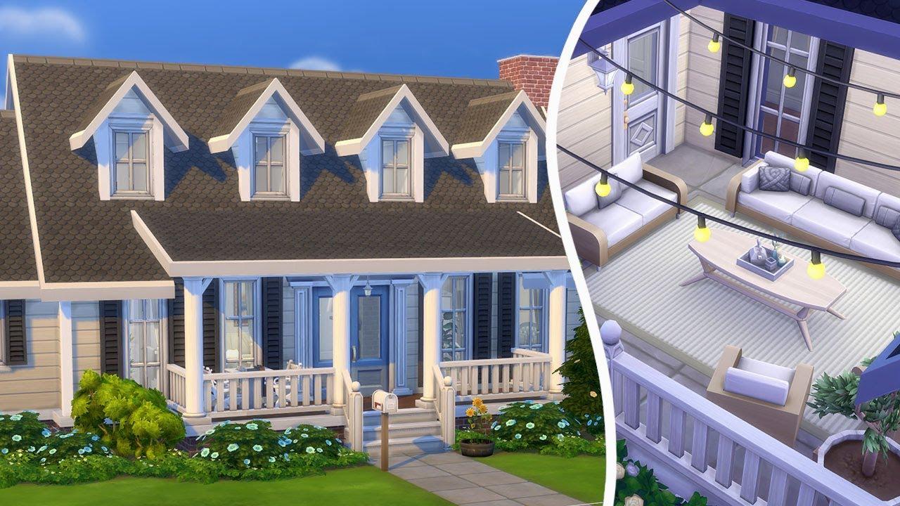 i built a sims house with a secret garden :0