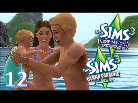 Sims 3 Lets Play *ISLAND PARIDISE+GENERATIONS* 'Diving In The Deep!' Part 12