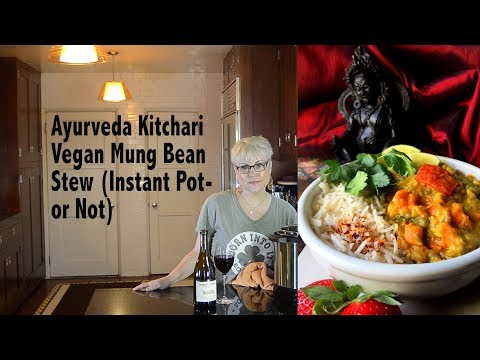 DDD Ep. #74 - Ayurveda Kitchari - Vegan Mung Bean Stew to Detox & Cleanse (Instant Pot)