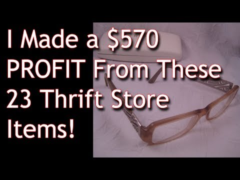 cf058d3de664 Thrift Store Finds that SOLD on ebay - Make Money From Home - Fulltime  Family RV