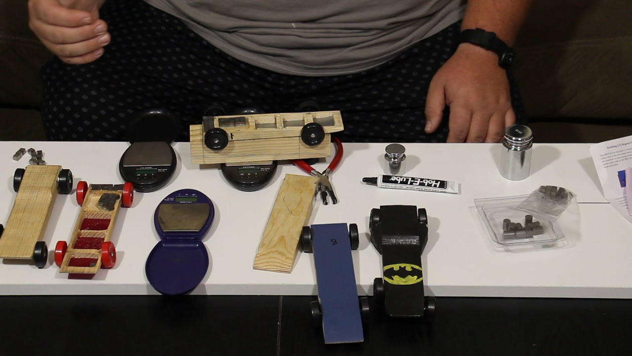 pinewood derby speed tip 4 of 5  weighting and graphite the car
