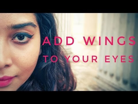 Add Wings To Your Eyes!! || Winged Eyeliner Tutorial with Three Different Options || BLAH BLAH TV