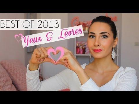 BEST OF BEAUTY 2013 - Les meilleurs produits Yeux & Lèvres