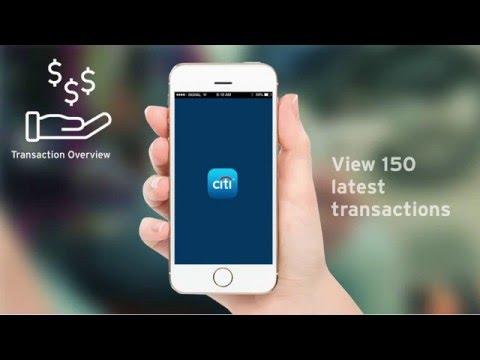 The new Citi Mobile® App