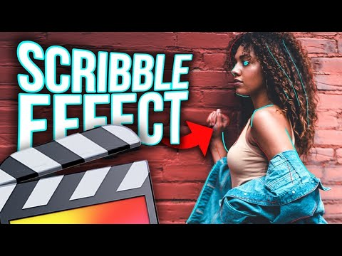 How To Make A Scribble Effect - Final Cut Pro X