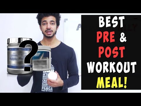 My Secret Pre & Post Workout Ingredients | Indian Bodybuilding Tip | AESTHETICALLY