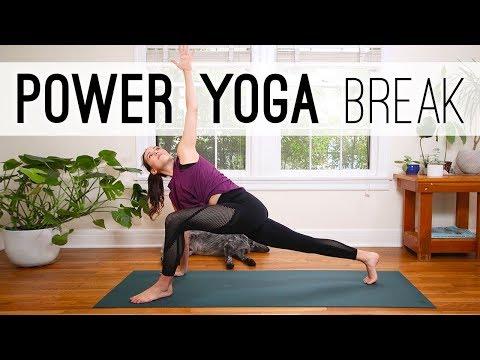 Power Yoga Break  |  Yoga For Weight Loss  |  Yoga With Adriene