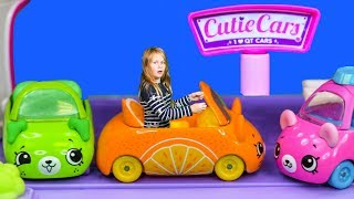 CUTIE CAR Diner PJ Masks + Paw Patrol Visit with Mickey Mouse Toys Video