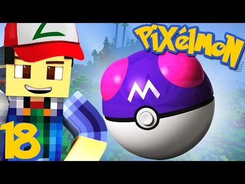 J'AI TROUVÉ UNE MASTER BALL !   Pixelmon ! #18