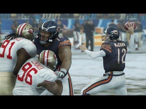 Madden 25 (PS4): Bears vs 49ers Gameplay - 1st Half (Snow)