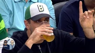 Aaron Rodgers chugging beer wouldn't have been a good look - Jalen Rose | Jalen & Jacoby