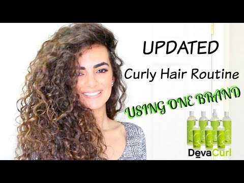 ONE BRAND - Updated Long Curly Hair Routine!