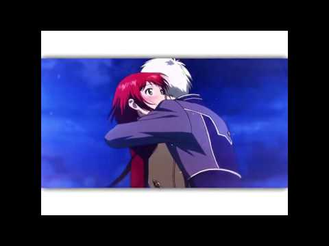 That neck kiss Anime: Anow white with red hair
