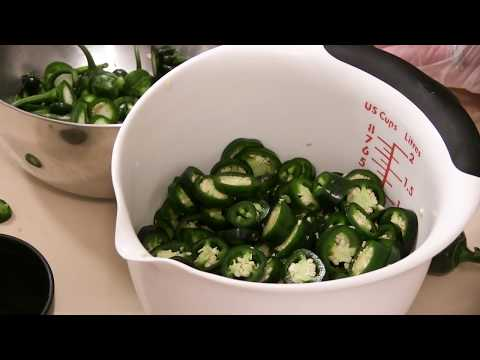 Making Cowboy Candy - Right From the Garden!