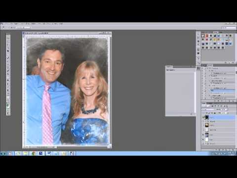 Sanded Frame In Photoshop Paint