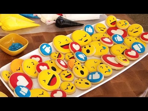FACEBOOK REACTIONS COOKIES, HANIELA'S