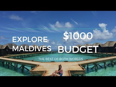 Explore Maldives on a $1000 budget