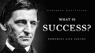 What is Success? - Ralph Waldo Emerson (Powerful Life Poetry)