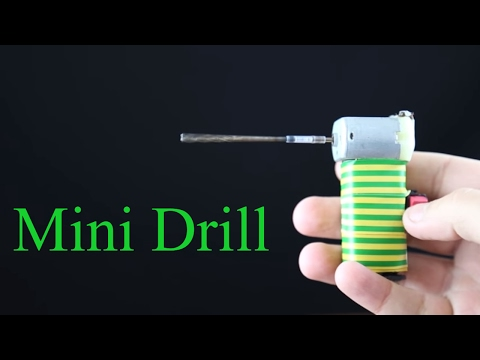 DIY How To Make a Mini Drill