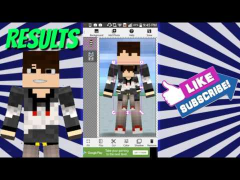 How to animate your minecraft character on android/iOS (EASY!)