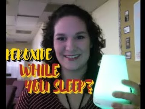 Have You Tried Hydrogen Peroxide Therapy While You Sleep? How I Use Peroxide Therapy While I Sleep
