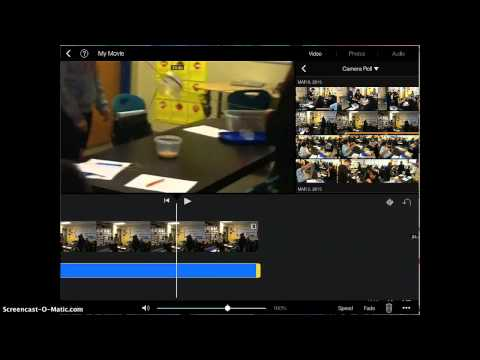 How to get rid of sound from a video in imovie app