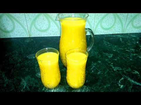 Mango Frooti Juice | How to make Mango Frooti at home | मैंगो फ्रूटी