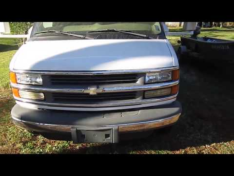 2002 Chevy Express 3500 Cold Start