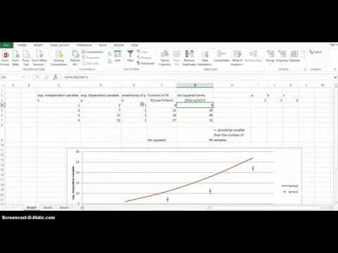 Chi-squared, Excel, and Solver