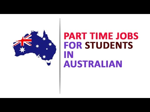 Part Time Job Facility To students In Australia.