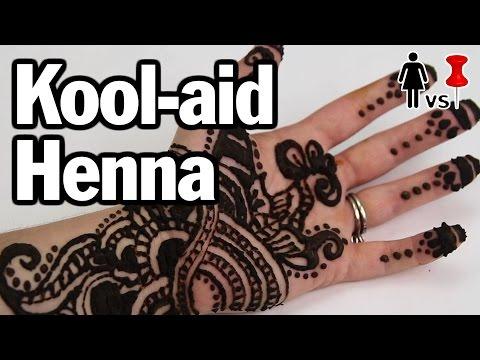 DIY Kool-aid Henna, Corinne VS Pin #4