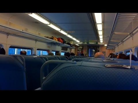 Newark Airport to New York Penn with NJTransit Train