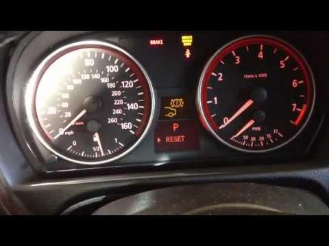 2006 BMW 330i ( changing rear brake sensor )