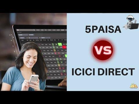 5Paisa Vs ICICI Direct - Stock Brokers Comparison