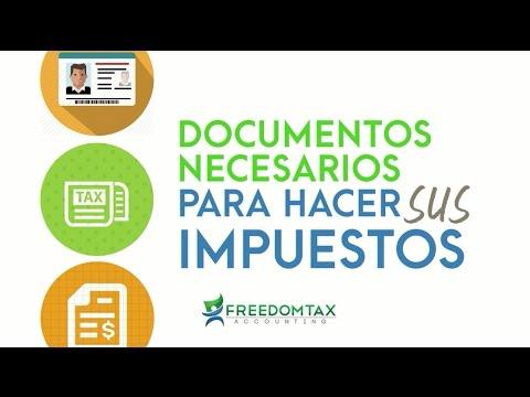 Documentos Necesarios Para Hacer Sus Impuestos Taxes