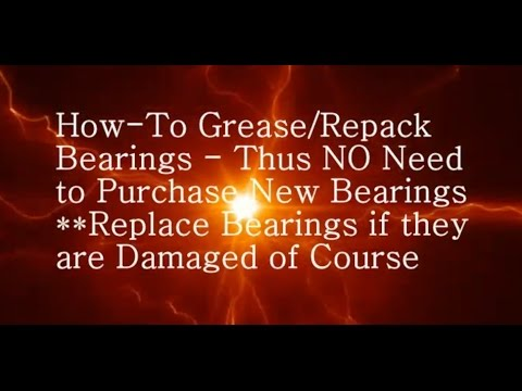 How to Grease Repack Rear Front Armature Bearing Kirby Vacuum Cleaner #1