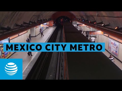 AT&T Wireless Work Begins on Mexico City's Subway | AT&T