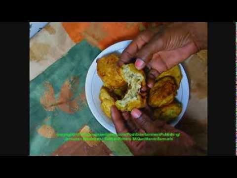 Salt-fish or Codfish Fritters recipe - Jamaican Food HD