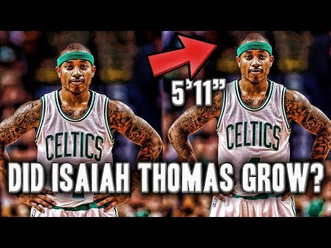 Did Isaiah Thomas Have A Growth Spurt This Off-season? | Now he is 5'11