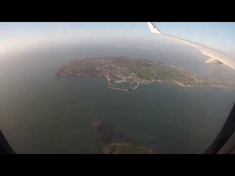 Landing at Dublin Airport, Ireland - 10th May, 2018