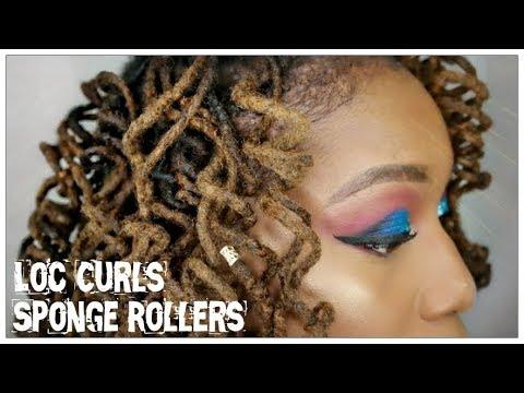 LOC CURLS: Sponge Rollers