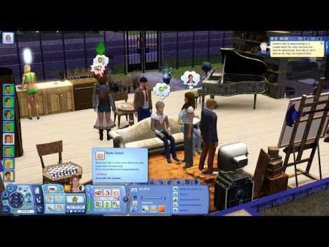 The Sims 3: Desafio do Hospício Insano (Ep. 11) - Hoje é festa lá no meu hospício...